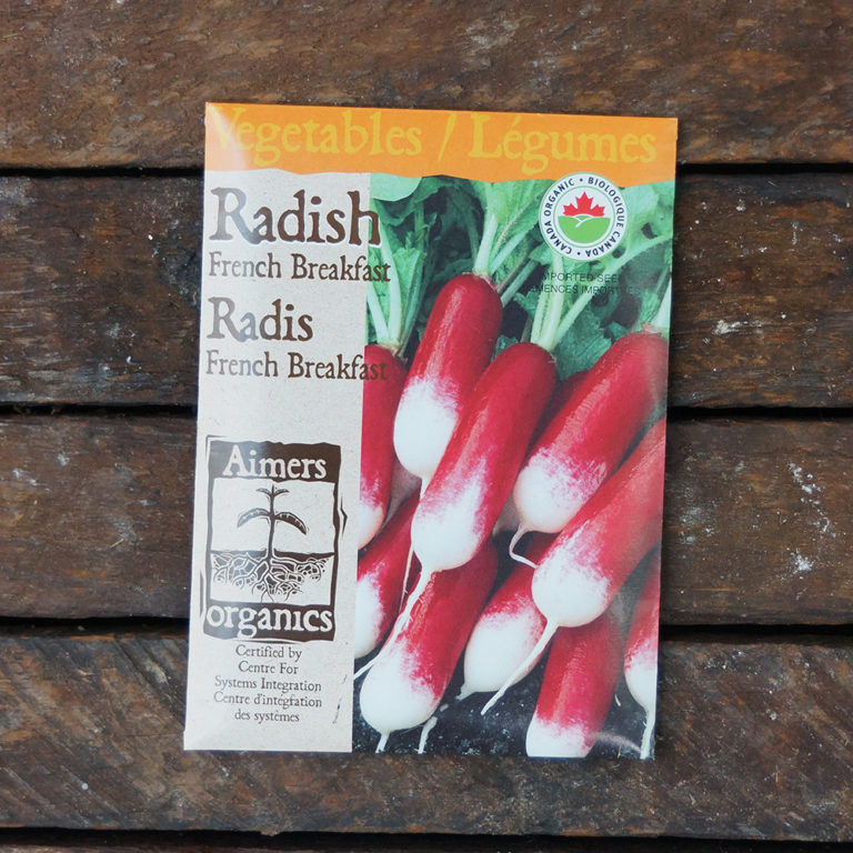 Radish Seeds – French Breakfast Certified Organic – OSC