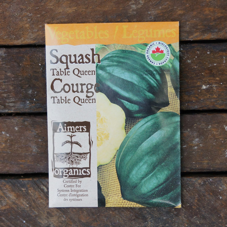 Squash Seeds – Table Queen Acorn Certified Organic – OSC