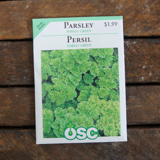 Parsley Seeds – Forest Green – OSC