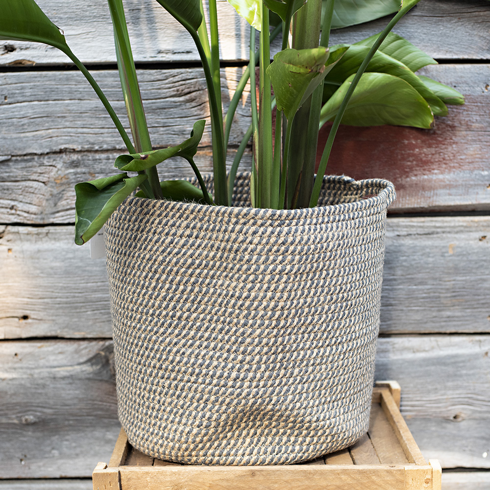 Rope Woven Cotton Basket