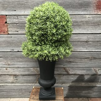 Artificial Boxwood Ball on Wreath